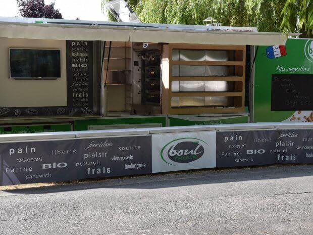 Le Boul Truck une boulangerie mobile passe au 12/13 de France 3