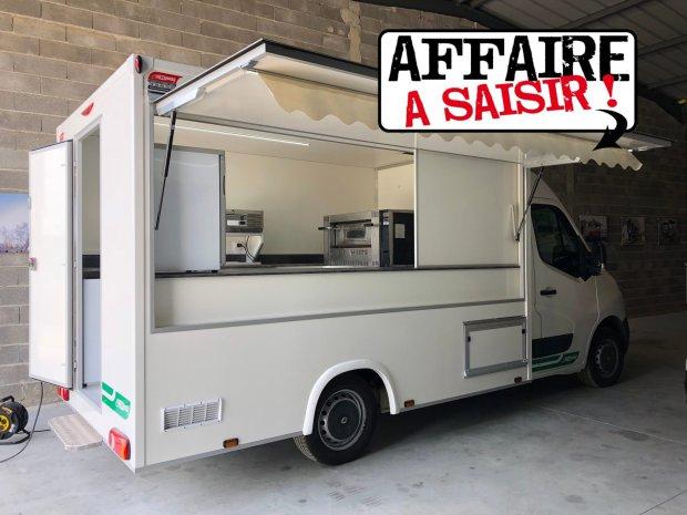 Camion Pizza ECO – four gaz – Ref C068