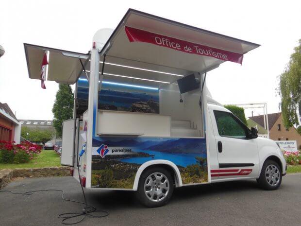 ITV Concept Doblo Office Tourisme Serre Poncon