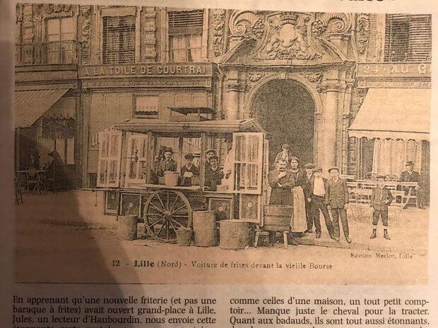 Nord de la France : l'une des premières friteries en France!