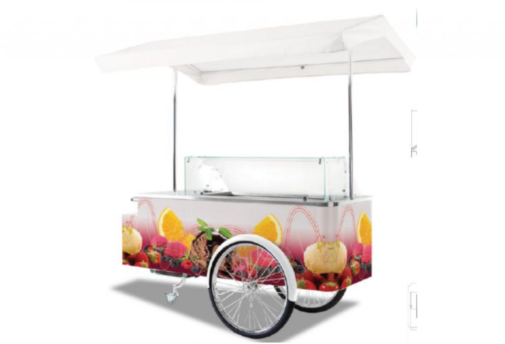charrette à glaces hedimag glace artisanale
