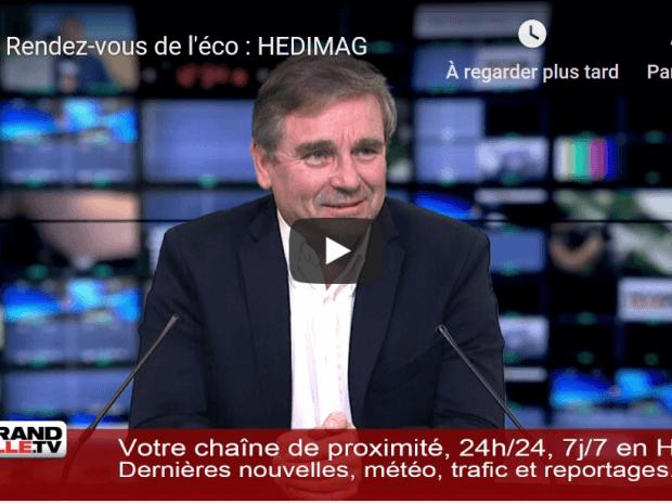 Grand Lille TV: Interview d'Hervé Diers PDG