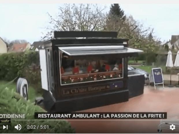 La baraque à frites s'exporte en France et ça cartonne!
