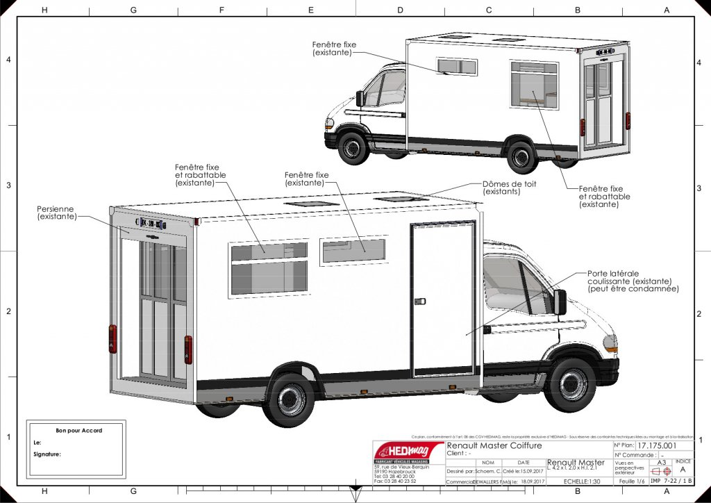 camion coiffure barber truck barbier mobile