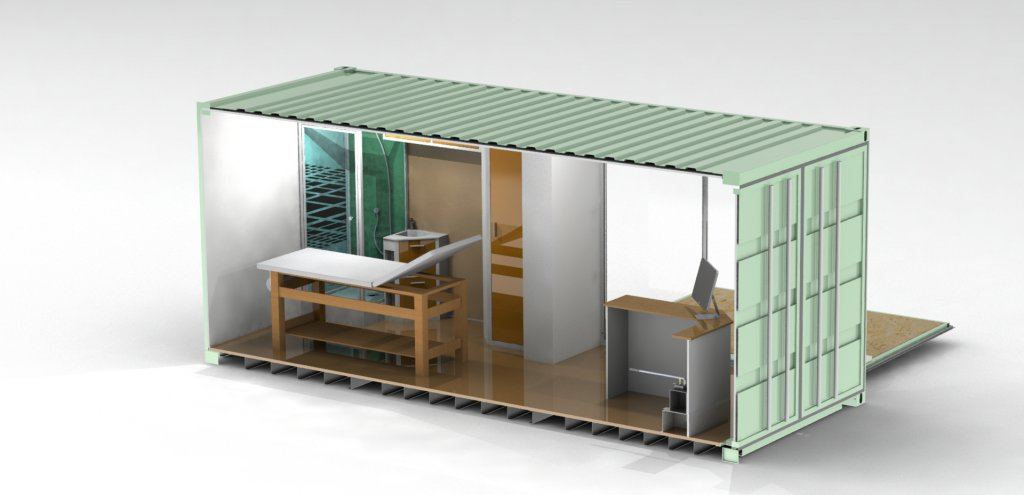 container institut de beauté