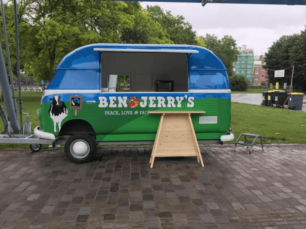 Remorque glaces Ben & Jerry's by Hedimag