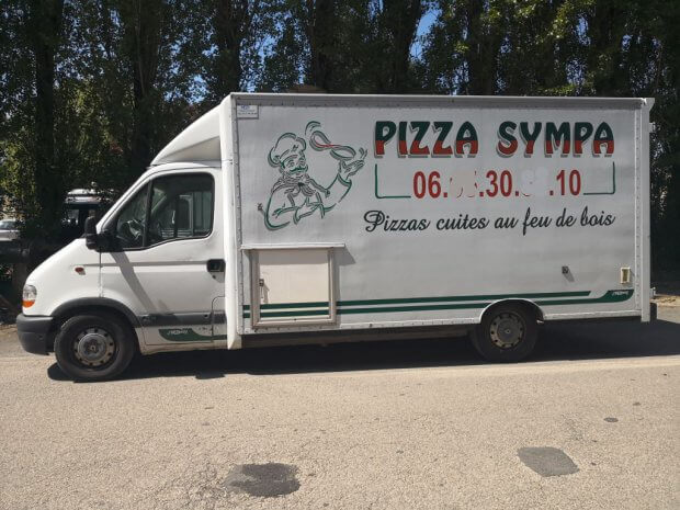 Camion Pizza occasion four bois – Ref C073