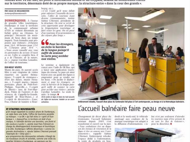 L'accueil balnéaire de Dunkerque devient mobile