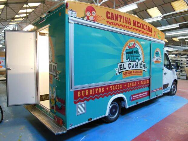 Food Truck design – Ref C078