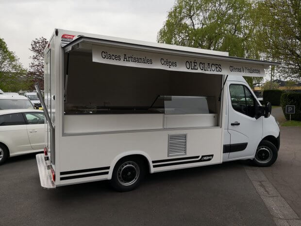 Camion glaces