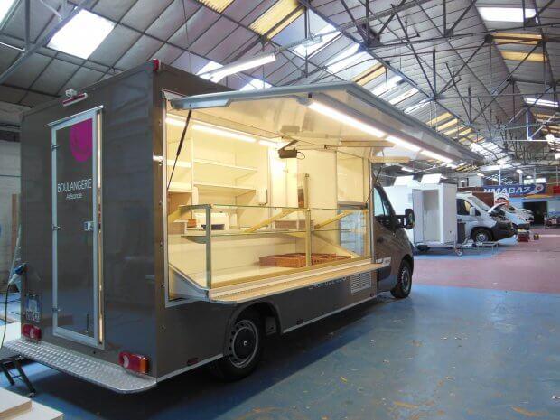 Camion Boulangerie marchés tournées Ref C077