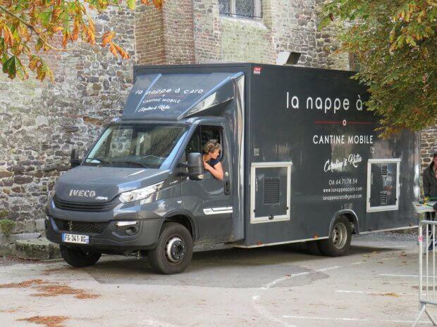 La Nappe à Caro: un camion cantine de cinéma