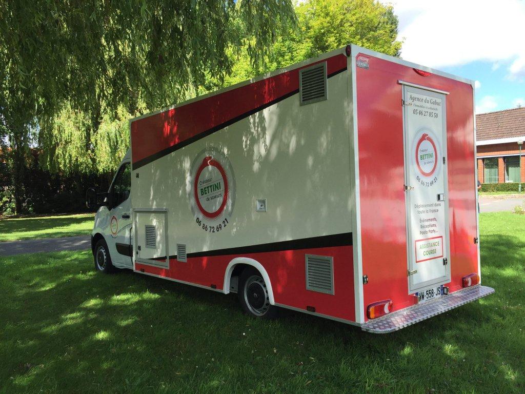camion pizza électrique