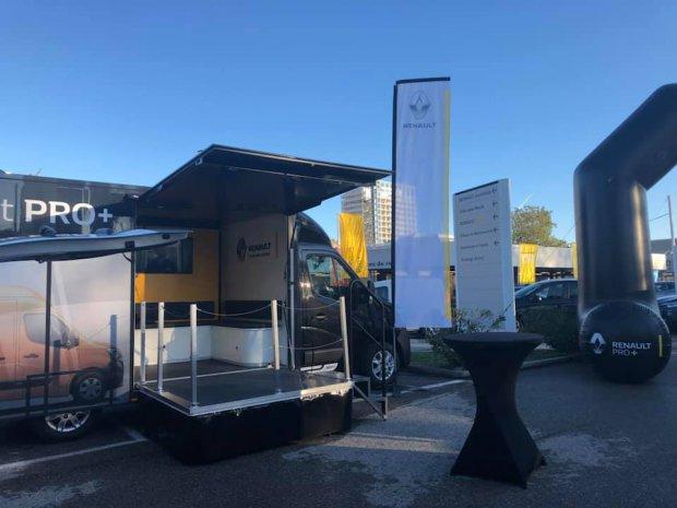 Camion podium Renault Pro + Nice