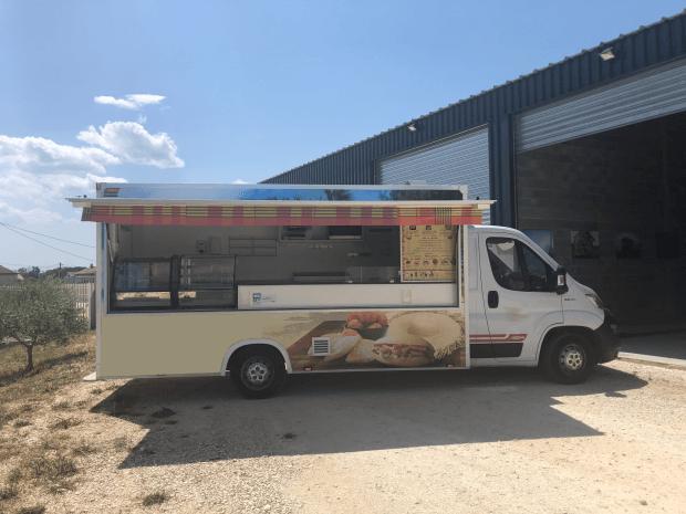 Food Truck moderne – Ref C088