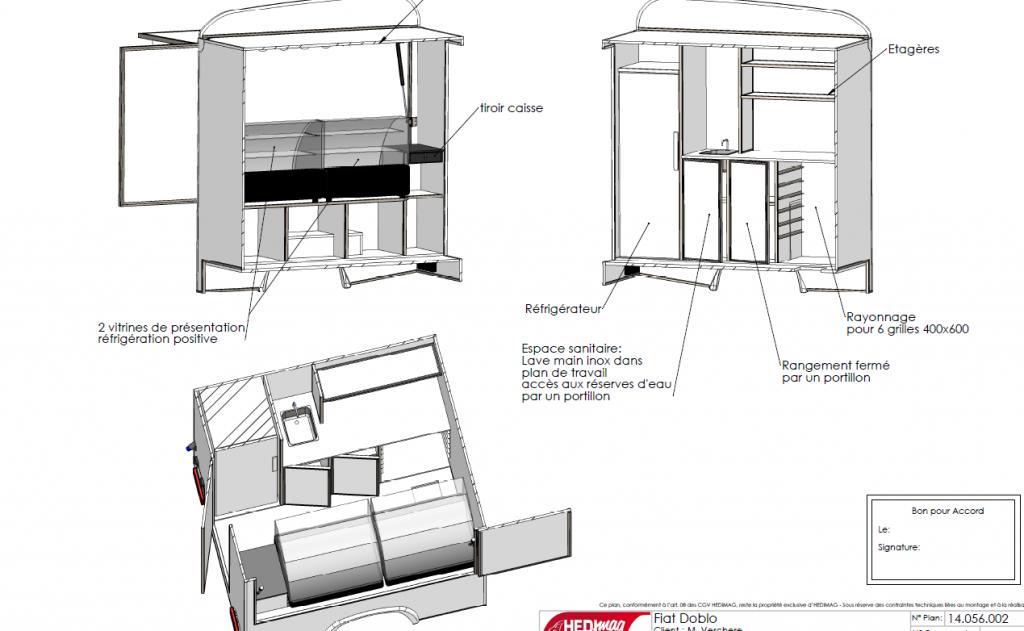 Concept Doblo Traiteur Fromage C090