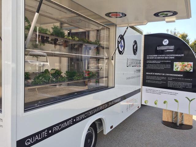 camion boutique électrique