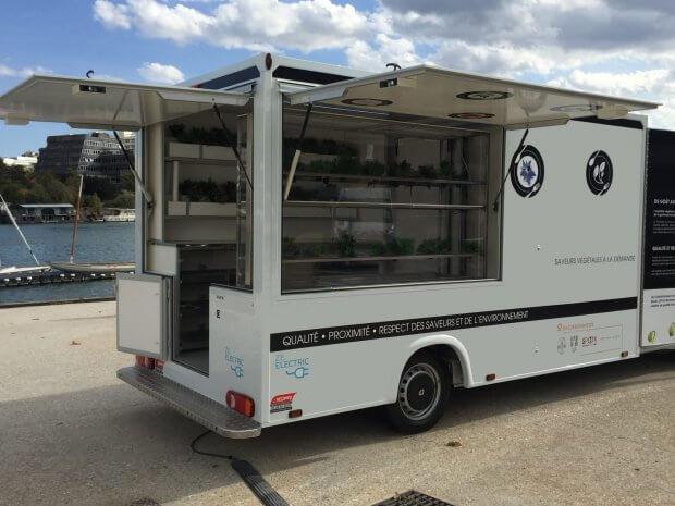 Camion boutique électrique – Ref C091