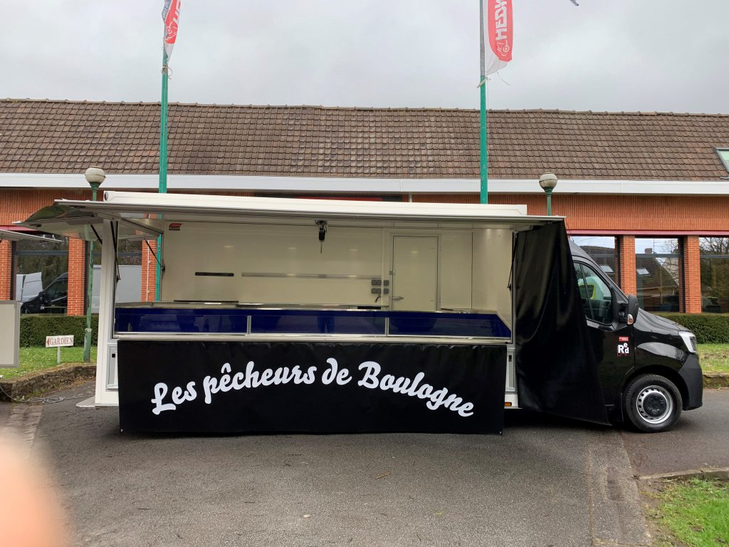 Camion poissonnerie Hedimag