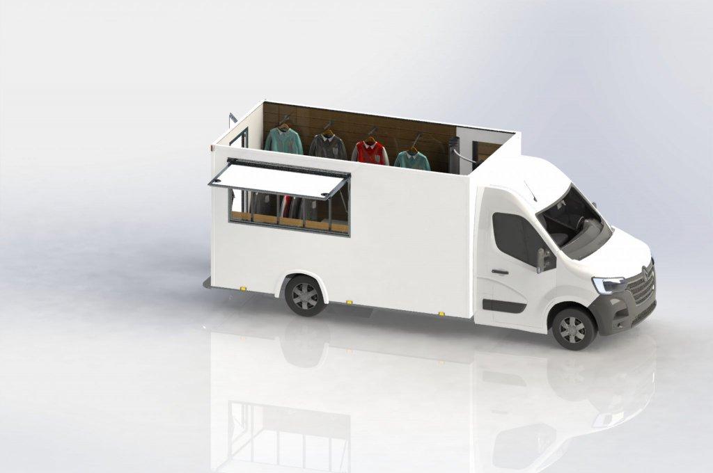 fashion truck camion vêtements hedimag