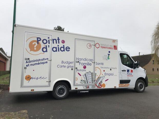 Camion bureau mobile Episec