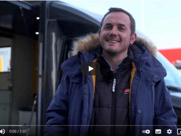 Les camions bureaux by Renault Pro + et Hedimag