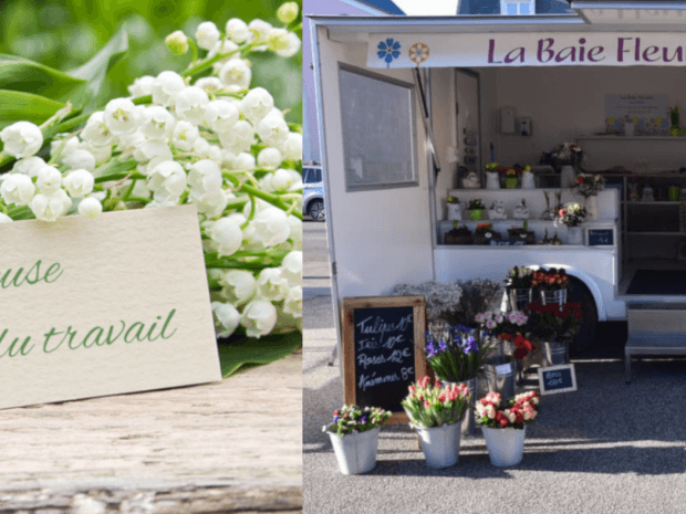 Joyeux 1er mai fleuri by Hedimag