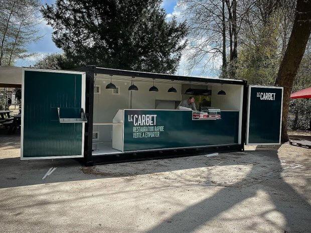 Container snack pour le Zoo d'Amiens