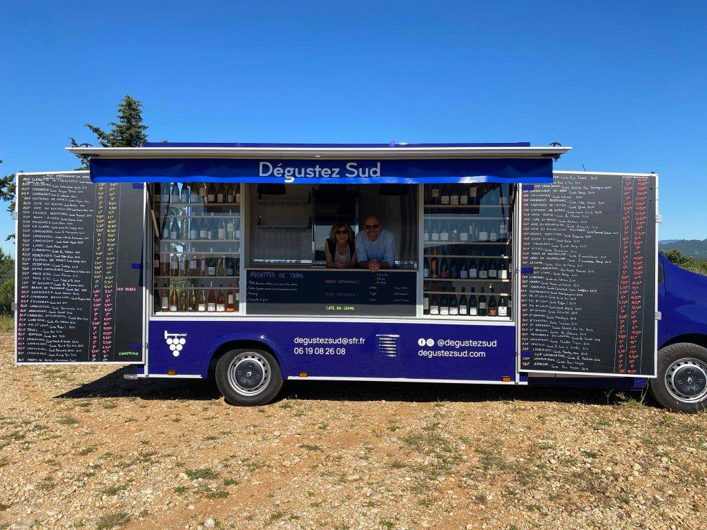 dégustez sud wine truck hedimag