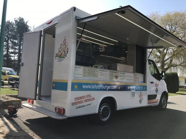 Le Tacot Burger un food truck prônant les produits frais