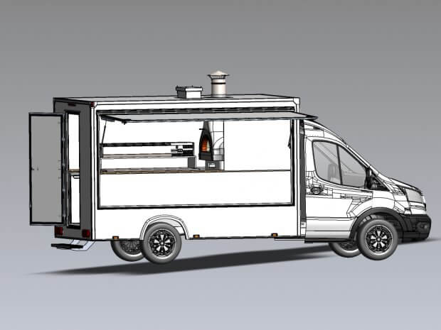 Camion pizza version access