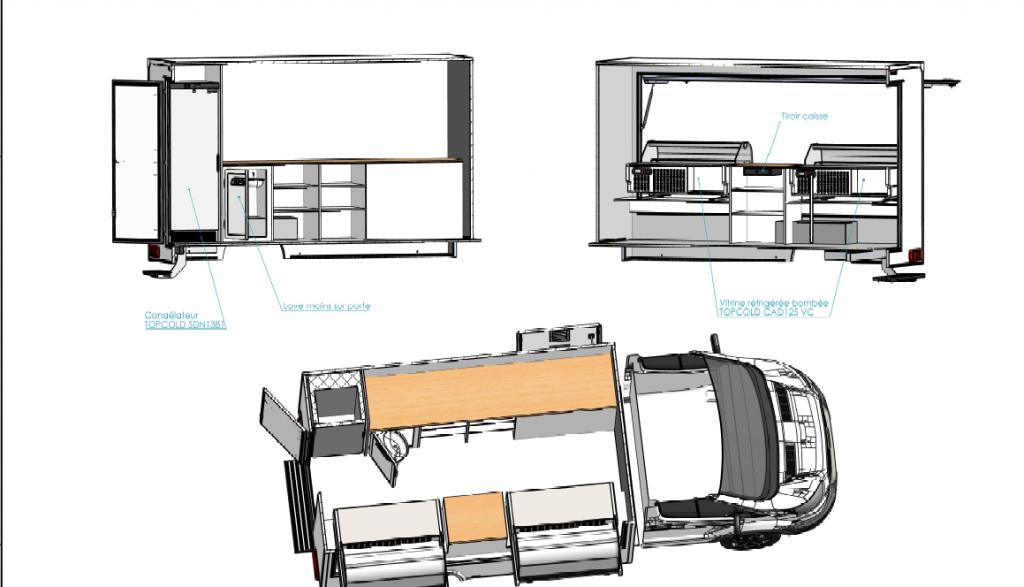 Camion traiteur crêpes access Hedimag 2