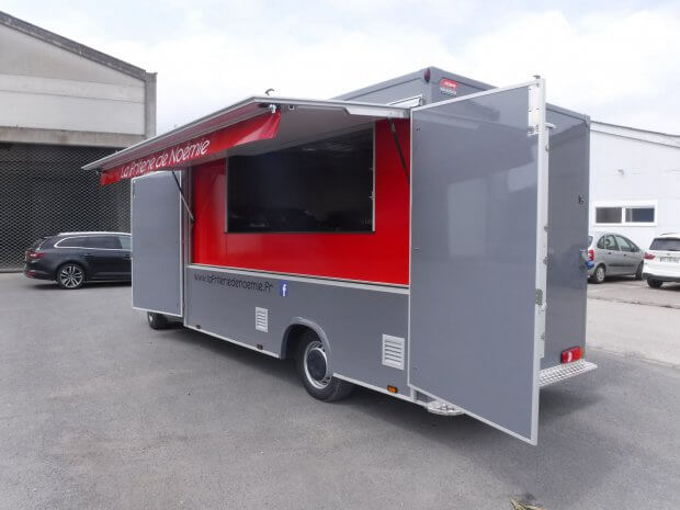 La Friterie de Noémie, une baraque à frites mobile
