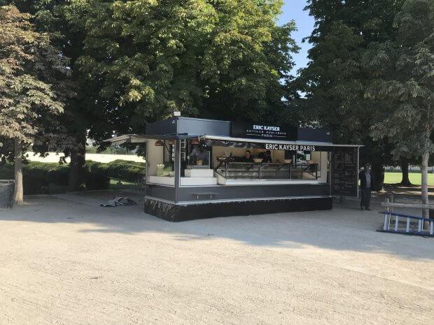 Kiosque boulangerie pour la Maison Kayser